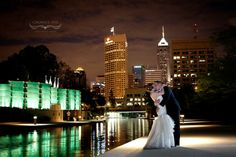 Kat + Pete | Wedding Reception. Photos by Crowe's Eye Photography. #IndianaStateMuseum