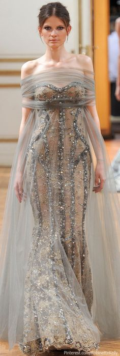Zuhair Murad Haute Couture | F/W 2013  I think the dress is stunning however can do without the veil.