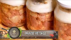 Salty Foods, Mason Jars, Canning, Recipes, Youtube, Hampers, Essen, Mason Jar