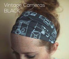 Vintage Camera Black