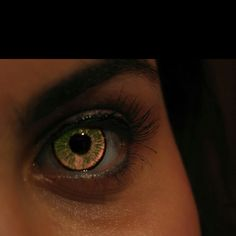 Werewolf eyes are beautiful.