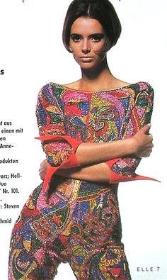 ☆ Heather Stewart-Whyte | Photography by Lothar Schmid | For Elle Magazine Germany | February 1991 ☆ #heatherstewartwhyte #lotharschmid #elle #1991
