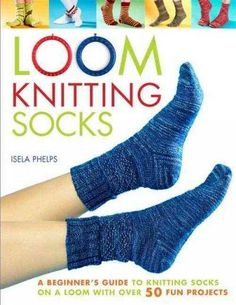 Socks are fun and easy projects to loom knit. In just a few hours you can create fabulous socks in every color, texture. and style imaginable! From thick socks for cold winters, to breathable sports s