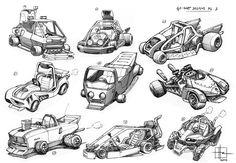 ArtStation - Karts Concepts, Herb Zischkau
