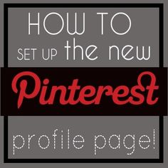 How to - Pinterest...