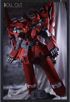 HGUC 1/144 Neo Zeong - Custom Build - Gundam Kits Collection News and Reviews