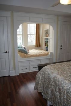 Would be a great place to snuggle up with a book or the baby :)