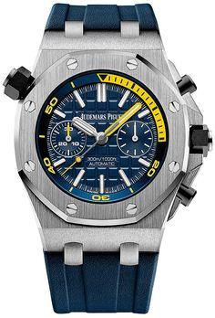 Audemars Piguet [NEW] Royal Oak Offshore Diver Chronograph 26703ST.OO.A027CA.01 (Retail:HK$219,000) ~ Flash Sales Special: HK$215,000.