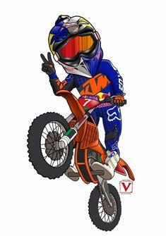 Gp Moto, Moto Bike, Motorcycle Art, Bike Art, Motorcycle Types, Motocross Ktm, Motocross Tattoo, Fox Racing Logo, Moto Enduro
