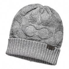 SCULPTED C KNIT CAP