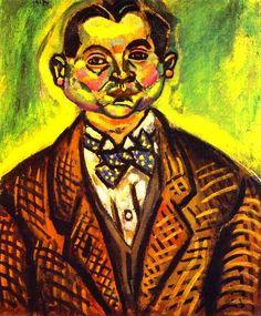 Хуан Миро. Автопортрет. 1917 год
