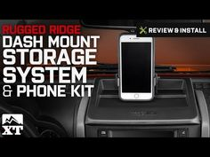 FREE SHIPPING! Stay Organized. Keep your JK's dash organized and make the most of hands free cell use or GPS with the Rugged Ridge Dash Multi-Mount Storage Syst Rugged Ridge, Wrangler Jk, Jeep, Kit, Free Shipping, Storage, Phone, Purse Storage, Telephone