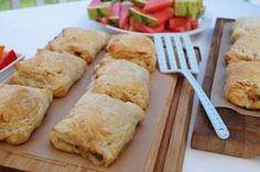 Butterdejspakker med oksekød. Nem og lækker aftensmad selv på en travl hverdag. Butterdejspakkerne kan let varieres ved fx at tilsætte kylling.