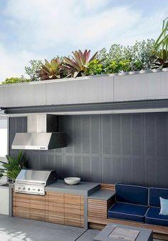 46 Outdoor Kitchen Ideas on A Budget #design #ideas #kitchen #onabudget #outdoor