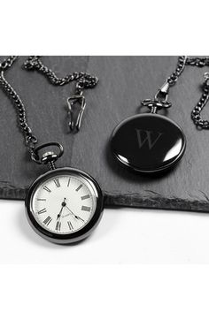 CATHY'S CONCEPTS Personalized Pocket Watch available at #Nordstrom