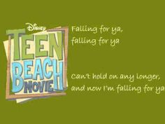 Falling For You (Lyrics Video) - Teen Beach Movie Grace Phipps It Movie Cast, I Movie, It Cast, Best Song Ever, Best Songs, Fall For You Lyrics, Grace Phillips, Teen Beach, Im Falling