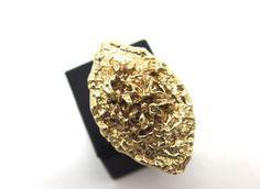 ring, handmade brass ring!