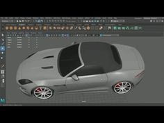 This very detailed tutorial created by Zack Anderson shows the entire modeling process of both the exterior and the interior of a Jaguar F-Type in Autodesk Maya. Models Men, Mini Car, Jaguar F Type, Maya, Design Tutorials, Audi R8, Modeling, Cars, Modeling Photography