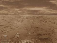 Venus Surface (from Venera lander)