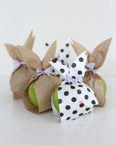 paper bunny baggies  {A Subtle Revelry}