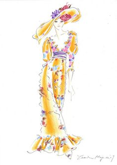 Valentino Couture by sketches by 628, via Flickr