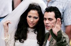 Jennifer Lopez's Wedding To Marc Anthony (The Fake Movie Version)