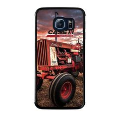 IH INTERNATIONAL HARVESTER RETRO TRACTOR Samsung Galaxy S6 Edge Case - Best Custom Phone Cover Cool Personalized Design – Favocase