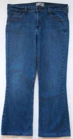 Levi Strauss Signature Stretch Low Rise Bootcut Jeans-Misses-Sz 14 Medium #LeviStraussSignature #BootCut
