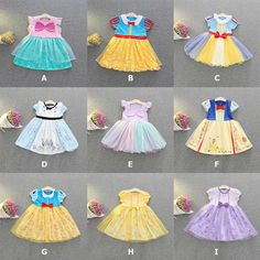 Kid Girl Princess Snow White Mermaid Ariel Cosplay Fancy Summer Tulle Tutu Dress #Fashion #BallGownTulleTutuSkirtDress #EverydayCasualCosplayHalloweenPartyPhoto