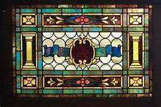 Antique American Stained and Jeweled Glass Transom Etched Glass Windows, Antique Stained Glass Windows, Stained Glass Panels, Leaded Glass, Stained Glass Art, Beveled Glass, Window Inserts, Tiffany Stained Glass, How To Make Light