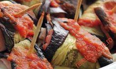 Rulouri de vinete Pork, Beef, Projects, Recipes, Food, Kale Stir Fry, Meat, Log Projects, Blue Prints