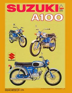 Suzuki A100 brochures & adverts