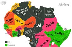 Africa is not poor, we are stealing its wealth Africa Map, North Africa, Dream Motivation, Al Jazeera, Crude Oil, Clothing And Textile, African Countries, Continents, Wealth