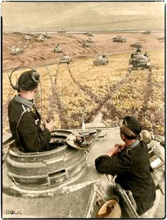 A Panzerkampfwagen IV F-1 of Panzer Regiment 24, Pz Div. 24 on the Russian Steppes in the Summer of 1942.