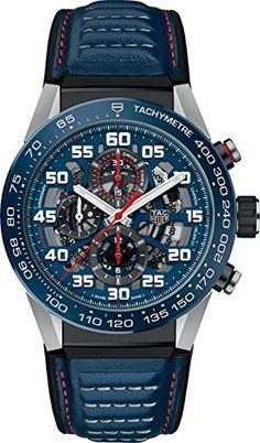 A new Formula One season has started. TAG celebrates that moment with this TAG Heuer Carrera Heuer 01 Red Bull Racing Special Edition. Tag Heuer Carrera Chronograph, Tag Heuer Carrera Calibre, Army Watches, Cool Watches, Trendy Watches, Latest Watches, Skeleton Watches, Timex Watches, Red Bull Racing