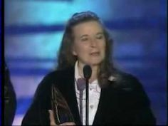 June Carter receives a special achievement for Johnny Cash - YouTube