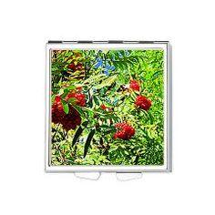 Rowan berries Square Pill Box