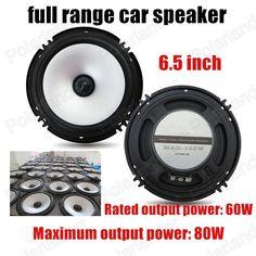 2pcs 6.5 Inch 2x80W best selling high quality Car full range speaker Stereo Audio speaker subwoofer loud speaker