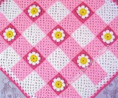 Items similar to PDF Pattern Crocheted Baby Afghan, Gingham Daisy Baby Afghan Blanket Pattern on EtsyRavelry: Gingham Daisy Baby Afghan by the Jewell's HandmadesCute granny square baby blanket (picture only, no pattern)Posts about crochet written by Baby Afghan Crochet Patterns, Baby Blanket Crochet, Crochet Baby, Crochet Blankets, Crochet Granny, Baby Afghans, Baby Blankets, Patchwork Heart, Crochet Afgans