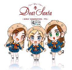 TTS TaeTiSeo Dear Santa fanart