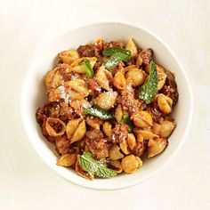Get the recipe for Spiced Lamb Ragu Shells