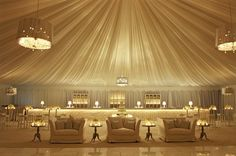 Intimate seating lining the edges of the dance floor allowed for cozy conversation and quick break to rest!