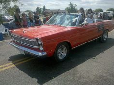 '65 Ford Galaxie Convertible