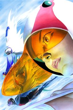 Battle of the Planets (Gatchaman) by Alex Ross