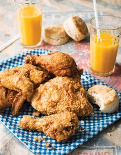 The fried chicken recipe