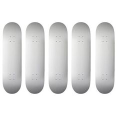 Blank Skateboard Decks, White P, Concave, Skateboarding, Hard Rock, Carbon Fiber, Tape, Hardware, Canada