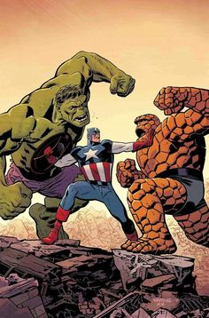 art by Chris Samnee) Hulk Marvel, Ms Marvel, Avengers, Marvel Comics Superheroes, Marvel Characters, Marvel Heroes, Comic Movies, Comic Books Art, Arte Nerd