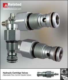 Typical application for an adjustable flow control needle valve is to meter flow giving speed or full bypass control on hydraulic systems. Marine Engineering, Mechanical Engineering, Gas Turbine, Hydraulic Pump, Pumps, Control Valves, Flow, Gay, Construction
