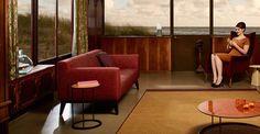 Cubb bank + Transit fauteuil + Gloss tafel - Pode.