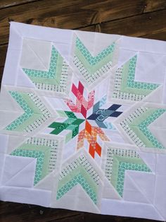 Bird in the window quilt star, aviatrix medallion center star quilt xxx